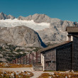 Stock Photo: Dachstein panoramfrom east