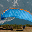 Starting paraglider — Stock Photo #37963777