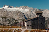 Dachstein panorama from east — Stock Photo