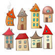 Set houses — Stock Vector #28113447