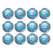 Zodiac horoscope — Stock Vector