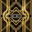 Art deco grille — Vector de stock #33427019