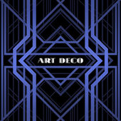 Art deco grille — Vector de stock
