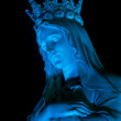 Blue Madonna — Stock Photo