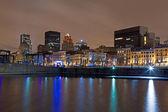 Montreal Night Skyline — Stock Photo