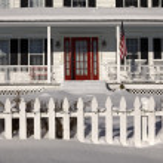 All American Porch — Stock Photo #14862477