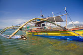 Filipino Outrigger — Stock Photo