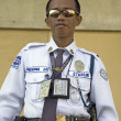 Stock Photo: Filipino Security Guard