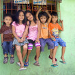 Five Beautiful Philippine Children — Stock Photo