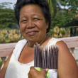 Middle Aged Filipino Woman — Stock Photo