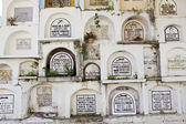 Above Ground Cemetery Crypts Philippines — Stock Photo