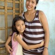 Philippine Mother and Daughter — Stock Photo