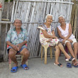 Philippine Senior Citizens — Stock Photo