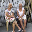 Stock Photo: Two Elderly Filipino Women