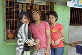 Philippine Teenage Boy and Girls — Stock Photo