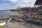 Seaside Fishing Village — Stock Photo