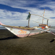 Stock Photo: Philippine Outrigger Canoe