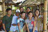 Filipino Extended Family — Stock Photo