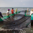 Filipino Fishermen Roxas City — Stock Photo #20228867