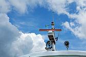 Gemi seyrüsefer sistemi — Stok fotoğraf