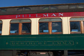 Pullman Railroad Passenger Train Car — Stock Photo