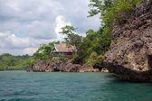 Tropical Island Vacation House — Stock Photo