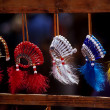 Native American Powwow souveniers — Stock Photo