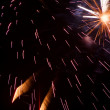Abstract Background Fireworks - Stock Photo