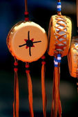 Native American Souvenir Drums — Photo