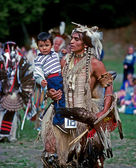 Native American Dancer — Foto Stock