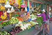 Philippine Vegetable Market — Stock Photo