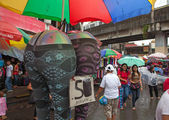Manila Street Market — Stock Photo