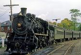 Steam Locomotive Train — Stock Photo