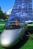 Solar Powered Car — Stock Photo