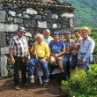 Azores Farmers — Stock Photo