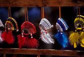 Native American Powwow Souveniers — Stock Photo