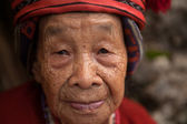 Centenarian Filipino Woman — Stock Photo