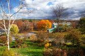 New England Autumn Scenic — Stock Photo