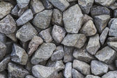 Crushed gravel texture — Stock Photo