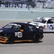 Race cars at Homestead Miami Speedway — Stock Photo