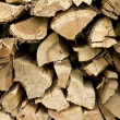 Firewood piled high — Stock Photo #14323691