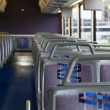 Inside coach bus — Stock Photo #14324061