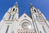 St. johns church in savannah, georgia — Stock Photo