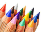 Colorful sharpened pencils — Stock Photo
