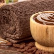 Chocolate spa - Stock Photo