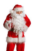 Santa Claus isolated on white — Stock fotografie