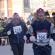 Stock Photo: Christmas half marathon