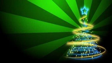Christmas Tree Background - Merry Christmas 71 (HD) — Stock Video