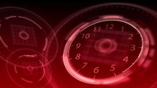 10 segundos 12 - Hi-Tech reloj 85 (Hd) — Vídeo de stock