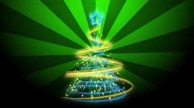 Christmas Tree Background - Merry Christmas 68 (HD) — Stock Video